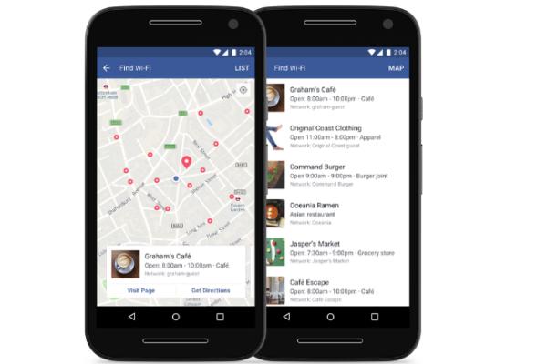 Facebook lança Find Wi-Fi em todo o mundo
